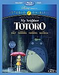 Studio Ghibli Blu-ray/DVD Combos: Ponyo, Howl's Moving Castle and more $13