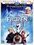 Frozen (Collector's Edition Blu-Ray + DVD) $14