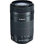 Canon EF-S 55-250mm f/4-5.6 IS STM Lens Refurbished $99
