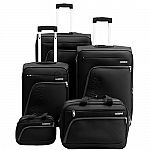 American Tourister Glider 5Pc Spinner Luggage Set (5 colors) $120
