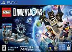 LEGO Dimensions Starter Pack - PlayStation 4 $70 (Prime Members Only)
