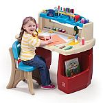 Step2 Deluxe Art Desk with Splat Mat $45 and more Crayola sale