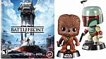 FREE Funko Pop! Star Wars Character with Pre-Order Star Wars Battlefront Video Games for $60