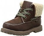 Carter's MORTAR Boy's Sherpa Boot (Toddler/Little Kid) $7.50