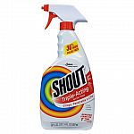 Shout Triple-Acting Laundry Stain Remover 22 oz $1.50