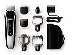 Philips Norelco Multigroom 5100, All-in-One Trimmer with 7 attachments (Model QG3364/42) $25