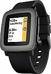 Pebble Time Smartwatch 38mm Polycarbonate $130