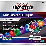 Holiday Showtime 120ct LED C3 Christmas Lights 8 Lighting Functions $9.44 (SYWR members)