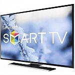 """Samsung 60"""" LED Smart UN60J6200AF HDTV + $200 GC $698"""