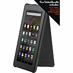 Amazon 7 inch Fire Tablet with Cover and 32GB Memory Card Black $55