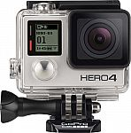 GoPro HERO4 Silver Action Camera + $80 Best Buy Gift Card $400