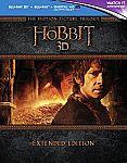 The Hobbit Trilogy [Blu-ray 3D + Blu-ray + Digital HD] [Region Free] $52