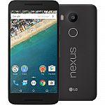 LG Nexus 5X Unlocked 4G LTE Smartphone + $20 Gift Card: 16GB $329, 32GB $379