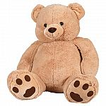 "Best Made Toys Giant 52"" Stuffed Bear $25"