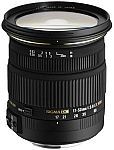Sigma 17-50mm f/2.8 EX DC OS HSM Zoom Lens for Nikon and Canon DSLRs with APS-C Sensors $399