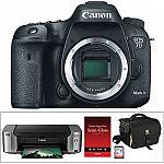 Canon EOS 7D Mark II DSLR Camera with PIXMA PRO-100 Printer Kit $1049 AR