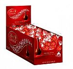 Lindt LINDOR Chocolate Truffles, 60 Count Box + 4-pc sample $11