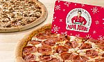 Free 2 Large 1-Topping Pizzas w/ $25 Papa John's Voucher Purchase