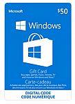 Buy $50 Windows Gift Card Get $25 Promo Gift Card Free