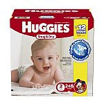 Huggies Snug and Dry Diapers, size 2 $0.12/diaper, size 4 $0.16/diaper or lower