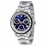 Movado 800 Series Men's Stainless Steel Chronograph Blue Dial Watch (Model 2600134) $319