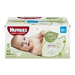 Huggies Natural Care Baby Wipes Refill, 624 Count $9.67
