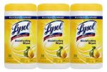 240-Count Lysol Disinfecting Wipes, Lemon and Lime Blossom $7.47