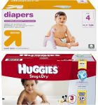 Target Free $10 - $15 Gift Card with 2 boxes of Diapers purchase