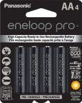4-Pack Panasonic Eneloop Pro High Capacity Rechargeable Batteries $13.32