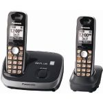 Panasonic KX-TG6512B DECT 6.0 PLUS Expandable Digital Cordless Phone System w/ 2 handsets $39