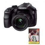 Sony Alpha a3000 20.1 MP Digital SLR Camera w/ 18-55mm lens + Adobe PE12 $250 and more
