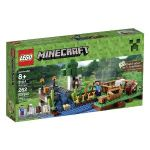 LEGO Minecraft The Farm or LEGO Jurassic World Dilophosaurus Ambush $21
