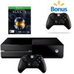 Xbox One Console Bundle with Halo and Bonus Wireless Controller $349