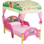 Dora the Explorer Toddler Bed with Canopy $60 and more