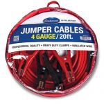 20-ft Eastwood Heavy Duty 4 Gauge Emergency Jump Start Battery Booster Jumper Cables $20