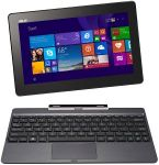 """Asus T100 Transformer 10.1"""" 2-in-1 Touchscreen Laptop (2GB 64GB SSD) with dock $200"""