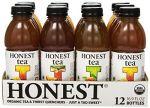 Honest Tea Unsweet Lemon Tea, 16.9 Oz (Pack of 12) $10.35