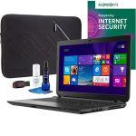 "Toshiba C55D-B5102 15.6"" Laptop (AMD A8, 4GB/1TB) Bundle $250"
