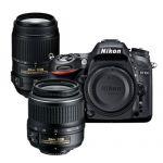 Nikon D7100 DSLR Camera (Refurbished) with 55-300 VR and 18-55mm Nikkor Lens $700