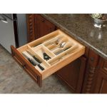 Wood Cutlery Insert Drawer Organizer $4 (70% off), YMMV