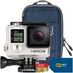 GoPro HERO4 Silver Action Camera + Free Camera Case + 16GB Card + $70 Best Buy Gift Card $400
