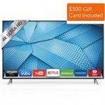 VIZIO 60 Inch 4K Ultra HD Smart TV M60-C3 UHD TV + $400 Dell eGift Card $1500 and more