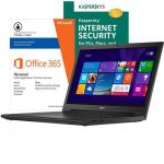 """Dell Inspiron 15.6"""" Touch-Screen Laptop, Core i3, 4GB/1TB + Kaspersky Internet Security 2014 & Microsoft Office 365 $350"""