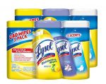 Lysol Disinfecting Wipes Variety Value Pack, 480 Count $11.66