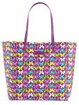 Vera Bradley Scalloped Tote in Flutterby Butterflies $25 and more