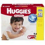 Huggies Snug & Dry Diapers Size 4 $0.19/diaper or less