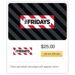 20% off Selected $50 Gift Cards: JCPenney, TGI Fridays, Jiffy Lube, Logan's Roadhouse, Steak n' Shake and more