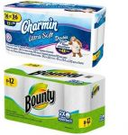 Target - 20% off + $5 Free Gift Card (Charmin 48 Double Plus Rolls + $5 GC $21, Bounty 16 Huge Rolls + $5 GC $24)