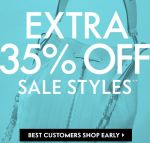 Extra 35% Off Sale
