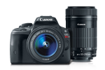 Canon EOS Rebel SL1 EF-S 18-55 IS STM Lens Kit with EF-S 55-250mm f/4-5.6 IS STM $650